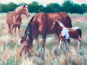 Untitled (Horses) by Elizabeth Corbett