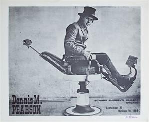 Edward Sherbeyn Gallery Poster, 1969