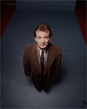 92126 Bill Murray Standing Color, 1992