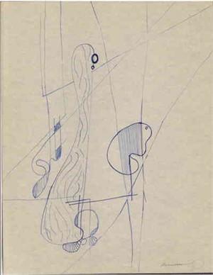 Organic Shapes & Strait Lines, c. 1938-40