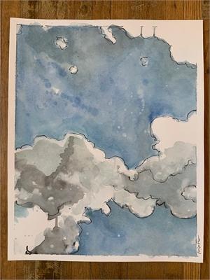 Clouds 3, 2020