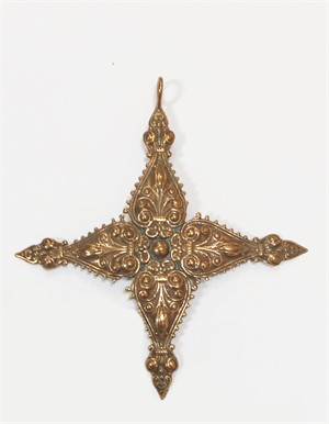 Pendant - Cross of St Agatha 9236, 2019