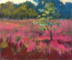 Loosestrife Field by Linda Richichi