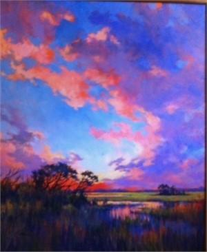Coastal Marsh Sunset