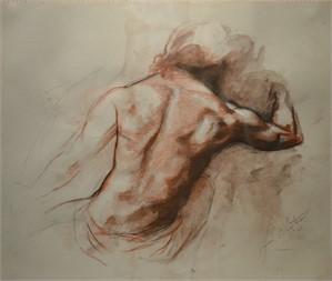 Nude Study (Back), 2007