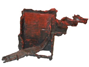 Untitled (red patina), 2012