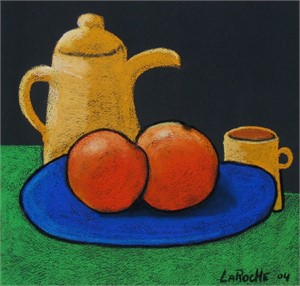 Coffee and Oranges -SOLD available for commission