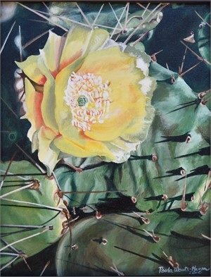 Desert Gold (Prickly Pear Cactus), 2018