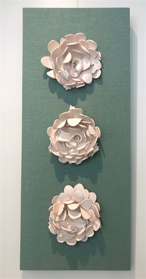 Recycled Wall Flowers, 2019