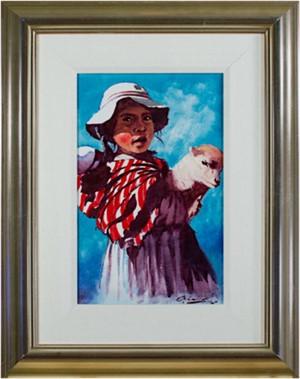 Nina Pastora (Shepherd Girl) Puno, 1992