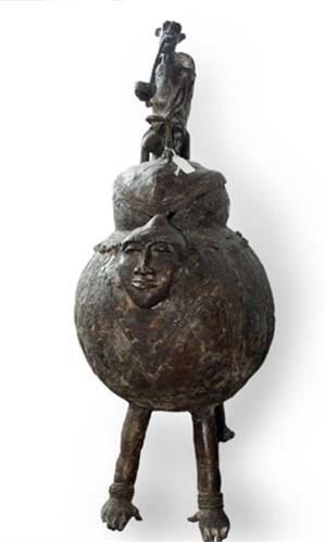 Mossi Box Treasure Burkina Faso, c.1900