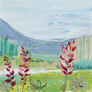 Flowers on the Way Home - Zermatt, Switzerland, 2020