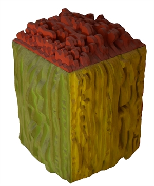 Untitled Cube (color), 1966