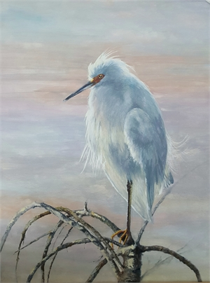 Snowy Egret by Sherry Egger