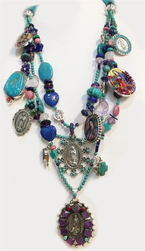 KY 1305 - Virgin of Guadalupe Necklace, 2019