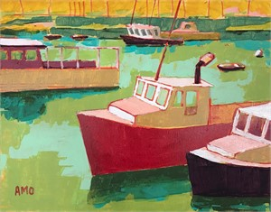 Working Boats at Rest, 2018