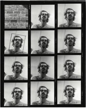 Untitled (contact sheet) (1/100), 1999