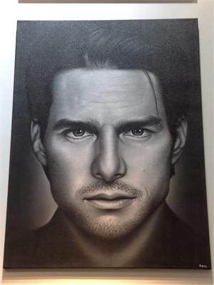 """Celebrity Series"" Tom Cruise, 2017"