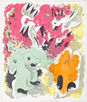 Estampas de Popol Vuh (Plate VII), 1943