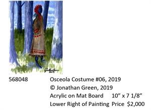 Osceola Costume #6, 2019