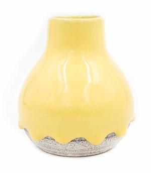 Saffron / Ash Vase