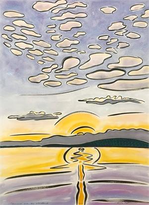 Sunrise Over the Cloudbank, 7/6/19