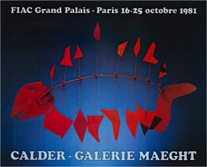 FIAC Grand Palais - Paris Calder-Galerie Maeght, 1981