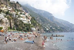 On the Beach, Positano, Italy, 2020