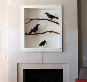 Three Crows | Elaine Hanowell, 2013