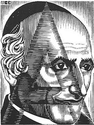 Scholastica - Initial A, 1932
