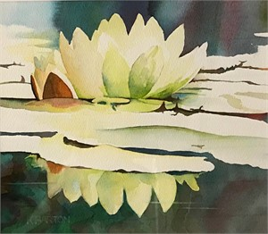 Water Lily 9 by Kirsten Barton