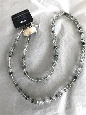Necklace - Camo Quartz & Thai Silver  #8677, 2020