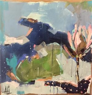 On the Pond by Ali Leja