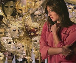"JOHN V WHYTOCK, ""Masquerade"", 2019"