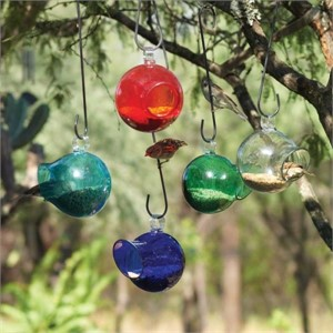 Bird Feeder - 24oz Seed Drop in Assorted Colors