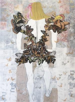 Blonde Butterfly Geisha, 2019
