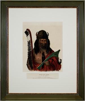 Kish-Ke-Kosh-A Fox Brave(Sauk-Fox), 1838