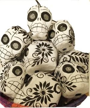 Ornaments - Paper Mache Calaveras