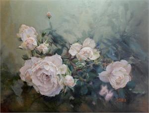 """LANI BROWNING, """"Summer Roses"""""""
