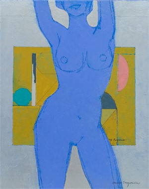 Jubilant Nude (blue)