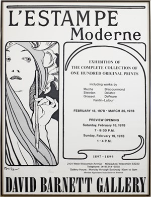 L'Estampe Moderne  - David Barnett Gallery Exhibition, Feb. 18, 1978 - Mar. 25, 1978 (1/500), 1978