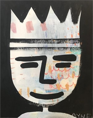 King Face #1, 2018