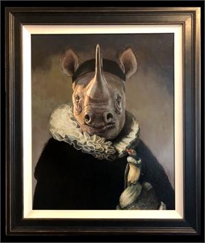 Portrait of Johannes Rhinoceros, 2019