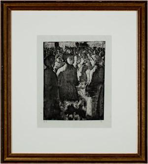 Marche a La Volaille, a Gisors (34/43), 1891