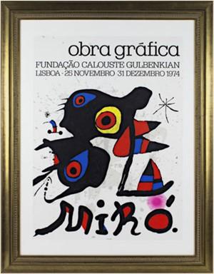 Obra Graphica by Joan Miro