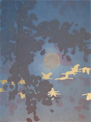 Full Moon Flight - SOLD, 2013
