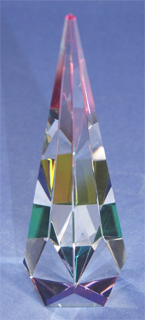"Crystal Cathedral Sculpture 11""-S"