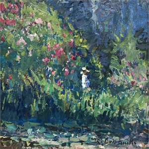 At the Edge of the Pond, Giverny