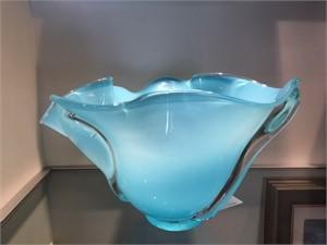 Turquoise Whorl Bowl