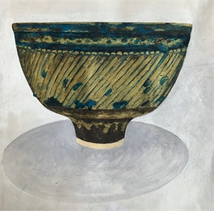 My Precarious Bowl from Lucie Rie, 2018
